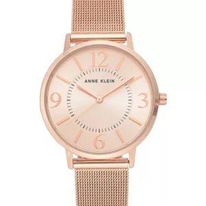 ANNE KLEIN NWT Women's 34mm Mesh Bracelet Watch